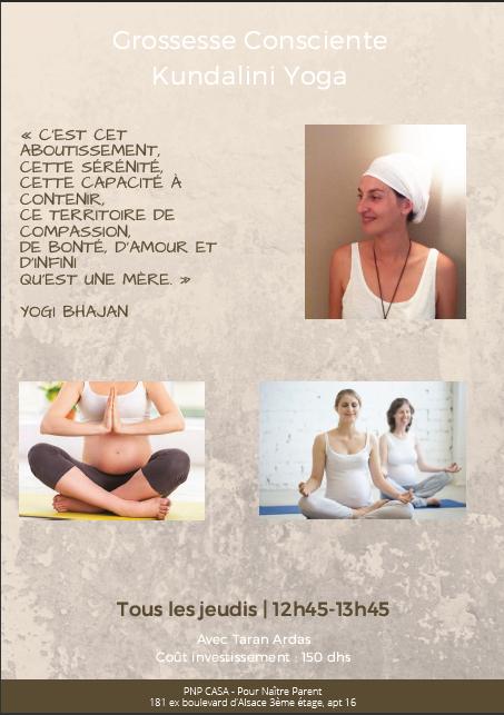 Grossesse consciente yoga kundalini